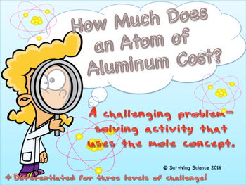 Chemistry Activity: How Much Does an Atom of Aluminum Cost?