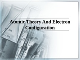 Chemistry - Atomic Theory and Quantum Model PowerPoint