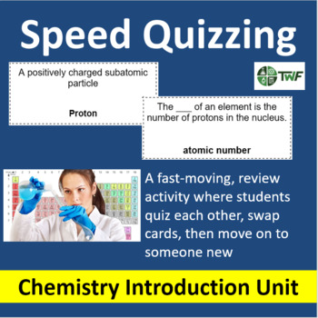 Chemistry: Atoms, Elements, and Compounds - Speed Quizzing