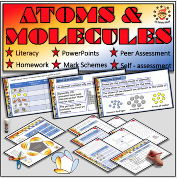 Chemistry - Atoms and Molecules Explained for Middle School Science