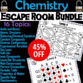 Chemistry Escape Room Science: Electron Configuration, Ionic/ Covalent Compounds