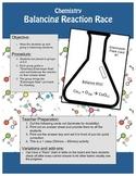 Chemistry - Balancing reactions interactive classroom activity