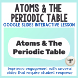 Chemistry Basics: Atoms and the Periodic Table