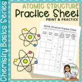 Chemistry Basics Series: Atomic Structure Practice Sheet