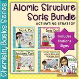 Chemistry Basics Series: Atomic Structure Sorts BUNDLE