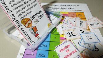 Chemistry Basics Series: Isotopes Sort