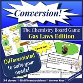 Chemistry Board Game—Conversion! Gas Laws Edition