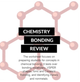 Chemistry Bonding Exam Review