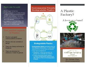 Chemistry Brochure