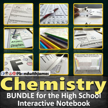 High School Chemistry In Bundle For Interactive Notebooks And - Interactive notebooks high school