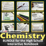 High School Chemistry 7-in-1 Bundle for Interactive Notebooks and Lapbooks