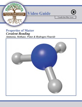 (Chemistry) COVALENT BONDING: Ammonia, Methane, Water, Hydrogen Fluoride