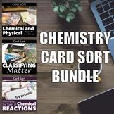 Chemistry Card Sort BUNDLE | Fun Chemistry Activity | Work