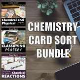 Chemistry Card Sort BUNDLE
