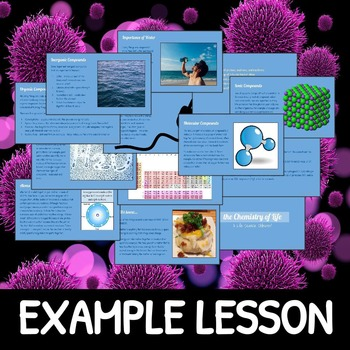 Chemistry, Cells & Genetics Life Science SLIDESHOW BUNDLE!