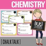 Chemistry Science Task Cards - Chalk Talk Art in Science