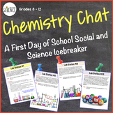 Chemistry Chat: First Day of School Ice Breaker Lab Activi