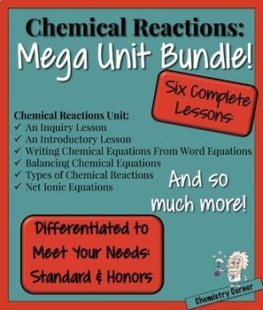 Chemistry- Chemical Reactions Mega Unit Bundle