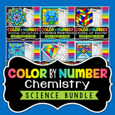 Chemistry - Science Color By Number Bundle (Save 30%)