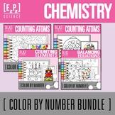 Chemistry Color By Number Science Bundle