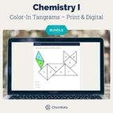 Chemistry Color-In Activity Worksheets BUNDLE   Digital Resource