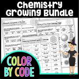 Chemistry Science Color By Numbers or Quizzes - GROWING BUNDLE!