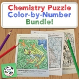 Chemistry Coloring Puzzle Activity Bundle