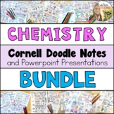 Chemistry Cornell Doodle Notes Growing Bundle