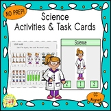 Chemistry Count and Clip Science Task Cards