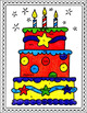 Chemistry Counting Elements- Color by Number Cake