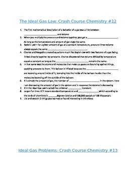 Chemistry Crash Course Questions Episodes 11-20