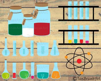 Chemistry Digital Cutting Files SVG PNG dxf eps clipArt 731C