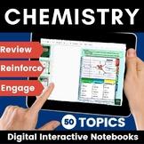 Chemistry Digital Interactive Notebook Bundle