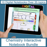 Chemistry Digital Interactive Notebook Bundle