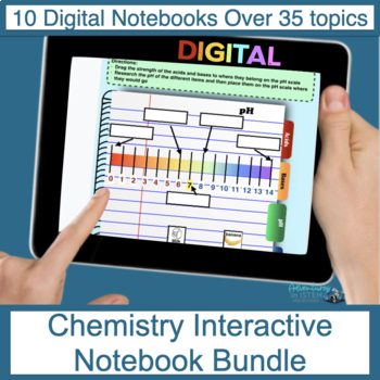 Chemistry Digital Flip Book Bundle