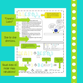 Chemistry Doodle Notes Growing Bundle 85% off
