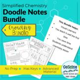 Chemistry Doodle Notes Growing Bundle 65% off