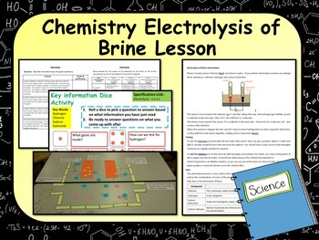 Electrolysis Worksheets & Teaching Resources | Teachers Pay Teachers