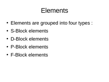 Chemistry Elements - Introduction, Metals, Non-Metals, Types, Uses