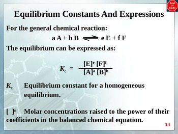 Chemistry - Equilibrium PowerPoint