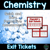Chemistry Exit Tickets (Exit Slips)