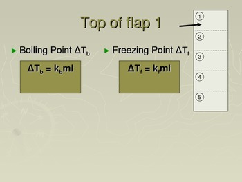 Chemistry Flip Notes: Boiling Point and Freezing Point Calculations