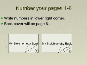 Chemistry Flip Notes: My Stoichiometry Book