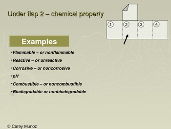 Chemistry Flip Notes: Physical and Chemical Changes and Properties