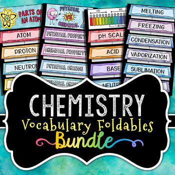 Chemistry Foldables - BUNDLE - Save 30%