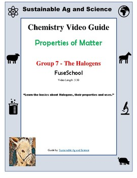 (Chemistry) GROUP 7 THE HALOGENS - FuseSchool - Video Guide