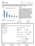 Chemistry: Gas Laws: Graham's Law of Diffusion