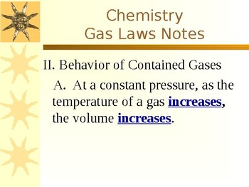 Chemistry Gas Laws PowerPoint.ppt