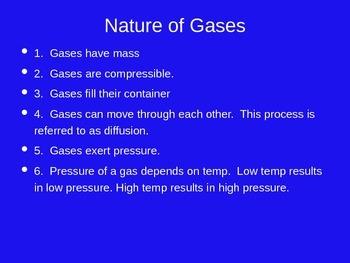 Chemistry Gases