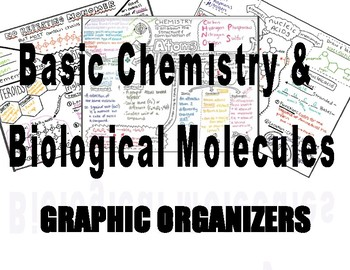 Chemistry Graphic Organizers for Biology